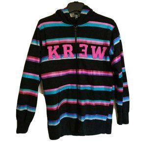 KR3W KREW Skate Stripped Full Zip Hoodie